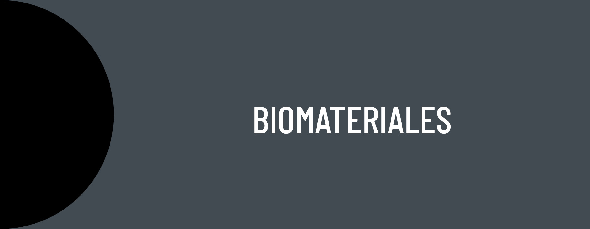 AIDIMME R&D lines: Biomaterials